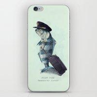 The Pilot (colour option) iPhone & iPod Skin