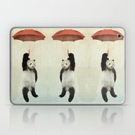 Pandachute Laptop & iPad Skin