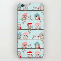 Winterowls iPhone & iPod Skin
