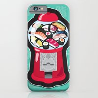 Gumball Sushi   ガチャ ガチャ 鮨 iPhone 6 Slim Case