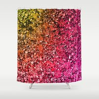 Red Rock Road Shower Curtain