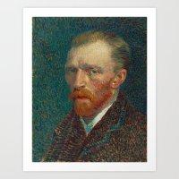 Vincent Van Gogh Self-Po… Art Print