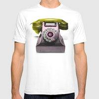 Call Marylin Mens Fitted Tee White SMALL