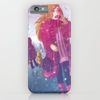 iPhone & iPod Case featuring That Winter Day by Lila Cattis