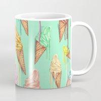 melted ice creams Mug