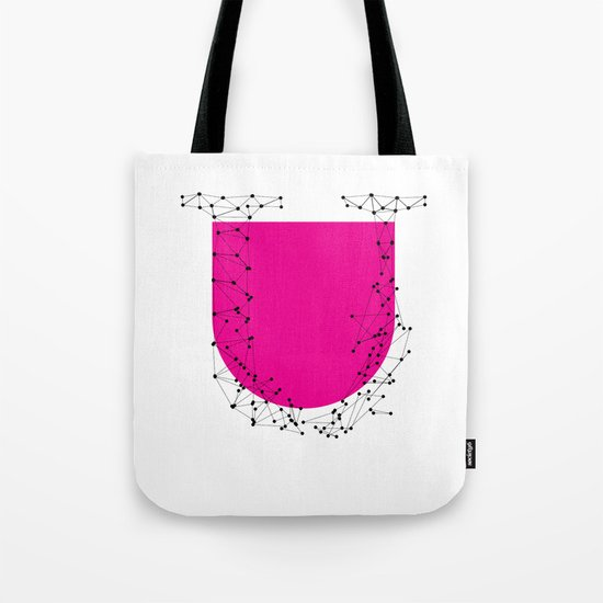 U (abstract geometrical type) Tote Bag