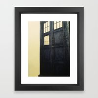 Doctor Who: Time and Relative Dimension in Space Framed Art Print