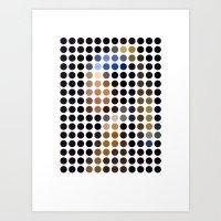 Vermeer Remixed (2009) Art Print