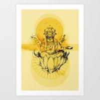 Brahma Art Print