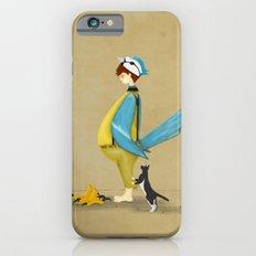 Blue Chickadee iPhone 6 Slim Case