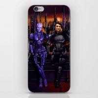 Mass Effect - Team Of Aw… iPhone & iPod Skin