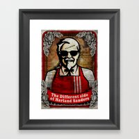 Another Side Of Kol. San… Framed Art Print