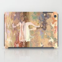 Swan Boat iPad Case