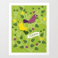 4 Seasons - Summer Art Print