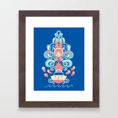 Ponyo Deco Framed Art Print