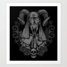 Sacrament Of Death Art Print