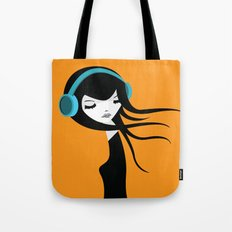 Flow In The Music Tote Bag