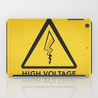 High Voltage iPad Case