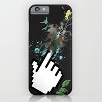 iPhone & iPod Case featuring Clicksplosion by Flatline
