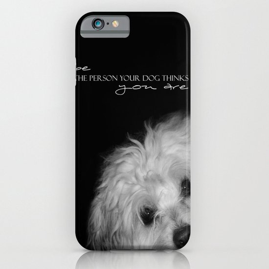 Your dog iPhone & iPod Case