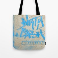 DIRTY CASH - TAGGING STREETART MIAMI by Jay Hops Tote Bag