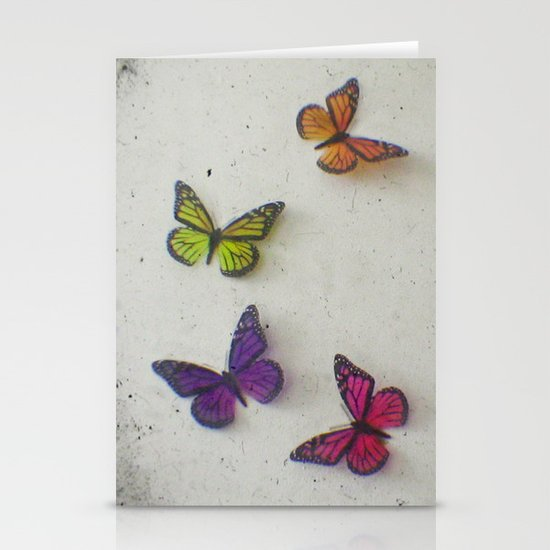 Oh to be a Butterfly Stationery Card