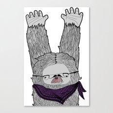 Trendi Yeti Canvas Print