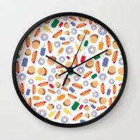 BP 70 Fast Food Wall Clock