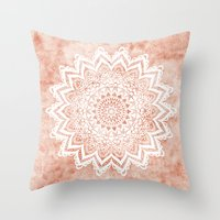 MANDALA SAVANAH Throw Pillow