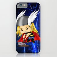 iPhone & iPod Case featuring Chibi Thor by artwaste