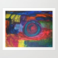 The Eye of the Storm Art Print