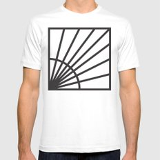 Minimalist 1 Mens Fitted Tee SMALL White