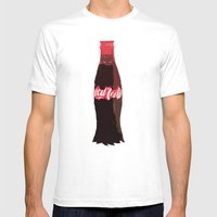 Coke-Man Mens Fitted Tee White SMALL