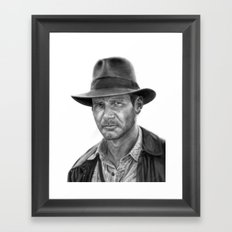 Indy Framed Art Print