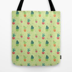 Cactus Party Pattern Tote Bag