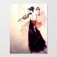 Concerto Canvas Print