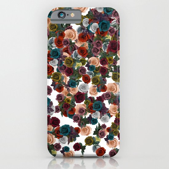 mini floral iPhone & iPod Case