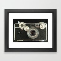 Vintage Range Finder Cam… Framed Art Print