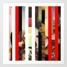 Stars in stripes 4+ Art Print