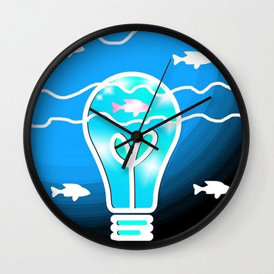 Shine the Way Wall Clock
