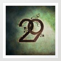 29 Art Print