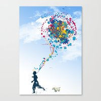 child creation chronicle 2 Canvas Print