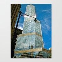 City Shine Canvas Print