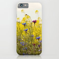 Yellow Wildflowers iPhone 6 Slim Case