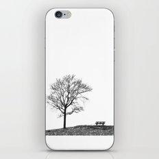 Bench Beneath Tree iPhone & iPod Skin