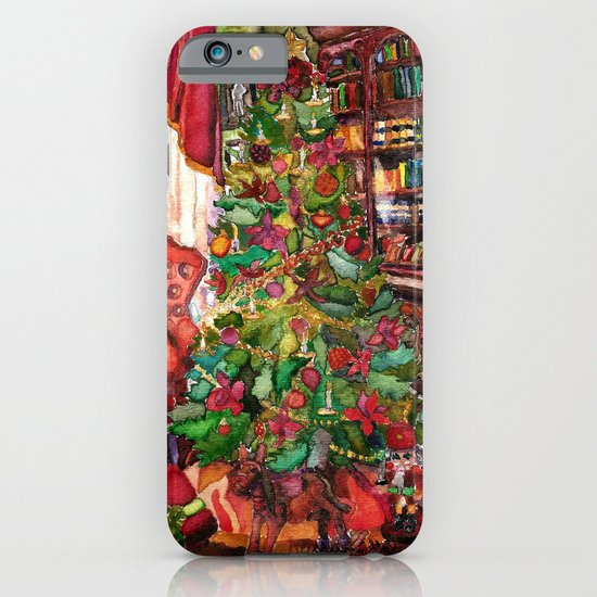 Bibliophile's Christmas iPhone & iPod Case