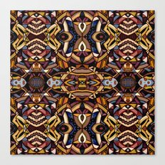 Angle Land Extrapolated Canvas Print