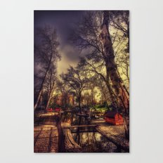 The Swanheart Canvas Print