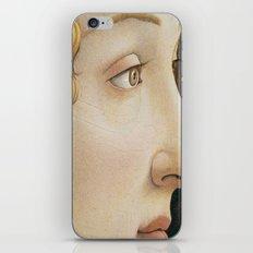 Botticelli c 1480 Portrait of Simonetta Vespucci detail iPhone & iPod Skin