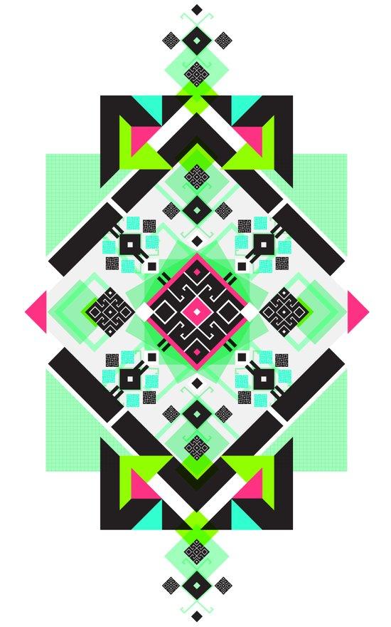 ::: Space Rug3 ::: Art Print